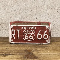 ROUTE66 Planter ルート66 プランター レクト ミニ 2個セット Red