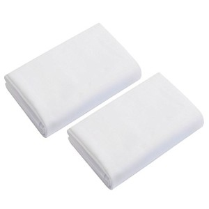 White Bassinet Sheets - Set of Two-Size: 17x31 by BabyDoll Bedding