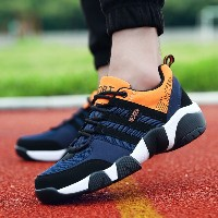 Outdoor Mens Running Shoes Summer Breathable Man Sneakers Sports Cushioning  Walking Male Shoes