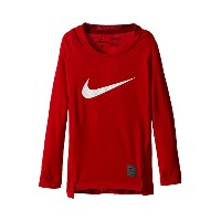 kids) (little ナイキ kids big クール スリーブ nike cool hbr comp long sleeve