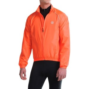 カナリ Canari メンズ サイクリング ウェア【Solar Flare Wind Shell Cycling Jacket 】Solar Orange