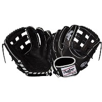 ローリングス メンズ 野球 グローブ【Rawlings Heart of the Hide Fielding Glove】Black/White