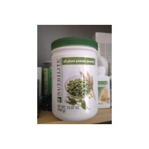 Nutrilite All Plant Protein Powder NET Weight: 450 G. By Amway by Bluezone Mall [並行輸入品]