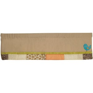 Carter's Wildlife Valance, Beige (Discontinued by Manufacturer) by Kids Line