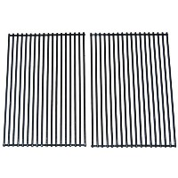 Porcelain Coated Stainless Steel Wire Cooking Grid for DCS and Charbroil Grills (Set of 2) [並行輸入品]