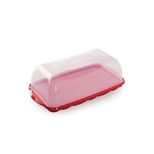 Nordic Ware Loaf Cake Keeper, Red by Nordic Ware