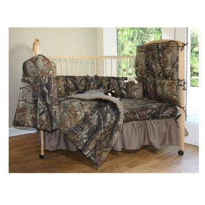 Realtree All Purpose Crib Bedskirt by Cabela's