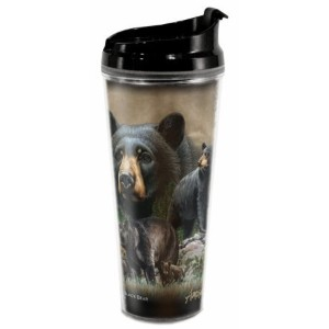 American Expedition野生生物コラージュ24oz Tall Tumblers TB24-301