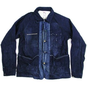 PRPS(ピー・アール・ピー・エス) Selvage Pocket Chambray Denim Jacket【SALE】