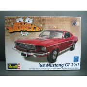 1/25scale レベル Revell '68 Mustang GT 2'n 1 マスタング