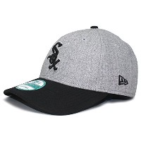 (ニューエラ) NEW ERA CHICAGO WHITE SOX 【THE LEAGUE 9FORTY ADJUSTABLE/HEATHER GREY-BLK】 シカゴ ホワイトソックス ...