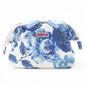 キャスキッドソン(Cath Kidston) FRAME MAKE UP BAG O/C Mid Blue ca642453 [並行輸入品]