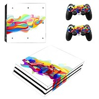 Zhhlinyuan 安定した品質 Vinyl Skin Sticker Protective ステッカー Case for PlayStatio PS4 Pro Console+Controller...