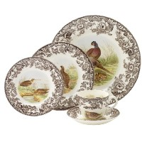 Spode Woodland 5 Piece Placesetting by Spode