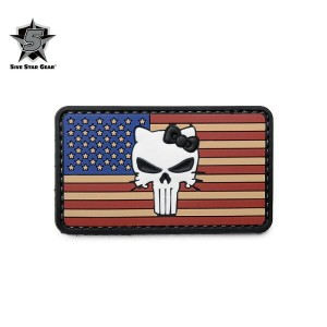 5IVE STAR GEAR ファイブスターギア 6724 VINTAGE FLAG KITTY MORALE PATCH