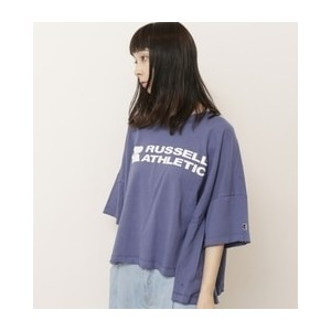 RUSSEL ATHLETIC×DOUBLE NAMEコラボビッグシルエットTEE【ダブルネーム/DOUBLE NAME Tシャツ・カットソー】
