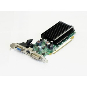 LeadTek GeForce 8400GS 256MB DVI/VGA/TV-out PCI Express x16 WinFast PX8400 GS TDH Silent【中古】...