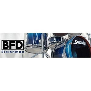 FXpansion BFD3/2 Expansion Pack Sleishman Drums ドラム拡張音源
