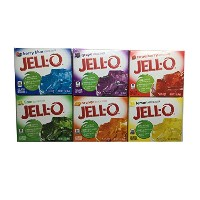 【terry_and_jun】アメリカ製 ジェロ ゼラチンデザート(ゼリーミックス) Jell-O 85g 6個セット