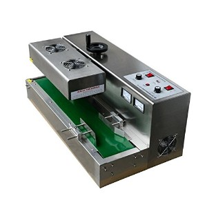 Desktop stainless steel Continuous Induction Sealer Electromagnetic induction sealing machine ...