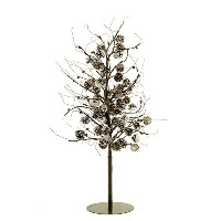 All Line Floral Lights LED Pine Tree with Pinecones, 39.5-Inch [並行輸入品]