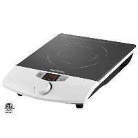Gourmia GIC-100 Multifunction Portable 1800W Induction Cooker Cooktop Countertop Burner with...