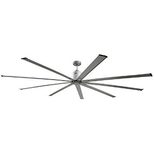 Big Air ICF72UPS Industrial Ceiling Fan, 72-Inch, Silver [並行輸入品]