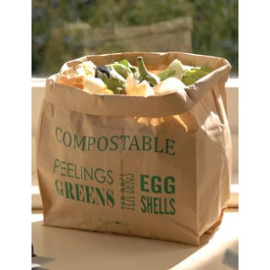 Burgon & Ball | GYO/CLINERS クラフトペーパーサック Compostable Kitchen Waste Bin Liners | バーゴン&ボール