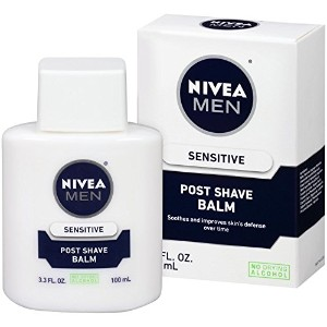 Nivea For Men After Shave Extra Soothing Balm Sensitive Skin 100 ml (並行輸入品)