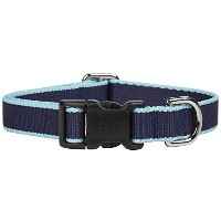 Harry Barker Chelsea Collar - Navy & Turquoise - Small - 9-16 inch by Harry Barker