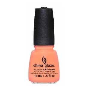 CHINA GLAZE Nail Lacquer - Sunsational - Sun Of A Peach (並行輸入品)