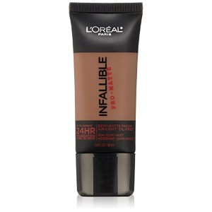 L'Oreal Paris Infallible Pro-Matte Foundation Makeup, 112 Cocoa, 1 fl. oz[並行輸入品]
