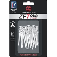 Zero Friction Tour 3-Prong Golf Tees [並行輸入品]
