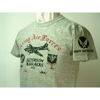 "Buzz Rickson's (バズリクソンズ)S/S Tシャツ""JEFFERSON BARRACKS"""