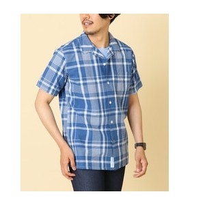 DOORS FORK&SPOON Voile Open Collar S/S Shirts【アーバンリサーチ/URBAN RESEARCH シャツ・ブラウス】