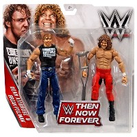 WWE, Basic Series, 2016 Then Now Forever, Dean Ambrose and Brian Pillman Action Figures