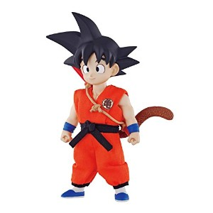 Dimension of DRAGONBALL 孫悟空 幼少期 約10cm PVC製 塗装済み可動フィギュア