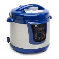 Elite Platinum EPC-808BL Maxi-Matic 8 Quart Electric Pressure Cooker, Blue (Stainless Steel) by...