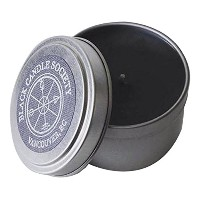 Black Candle Society Natural Soy Candle, Confection (Chocolate/Fennel), 8 oz [並行輸入品]
