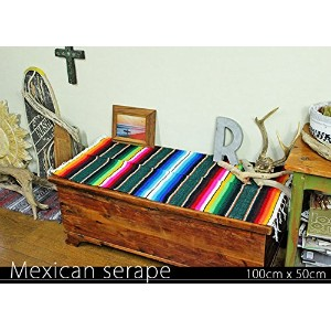RUG&PIECE Mexican Serape made in mexcico ネイティブ メキシカン サラペ メキシコ製 (rug-5532)