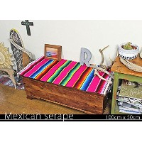 RUG&PIECE Mexican Serape made in mexcico ネイティブ メキシカン サラペ メキシコ製 (rug-5527)