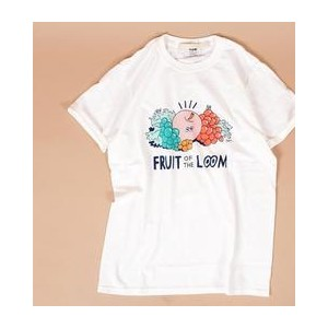 FRUITS OF THE LOOM:プリントTEE【シップス/SHIPS Tシャツ・カットソー】