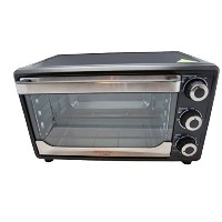 Cookmate by Viasonic 25L Toaster Oven, Black [並行輸入品]