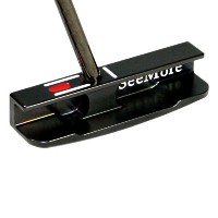 SeeMore Black Gunmetal mFGP CS Belly Putters【ゴルフ ゴルフクラブ>パター】