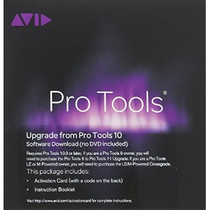 【国内正規品】 AVID ProToolsソフトウェア Pro Tools 10 to 11 Upgrade Student Activation Card (学生用) PT10TO11UPGRADE...