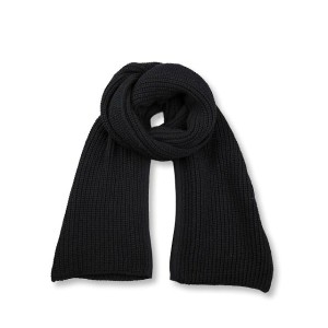 KRIS VAN ASSCHE クリスヴァンアッシュ CHUNKY KNIT SCARF W/ SLIT{112KN0120-0125-999-}{6W_EJ}