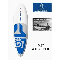 "STARBOARD (スターボード) WHOPPER Star Shot 2017 SUP 9'5""×33"" [WHITE] スタンドアップパドルボード FIN付き"