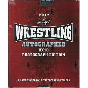 2017 LEAF WRESTLING SIGNED 8X10 PHOTOGRAPH EDITION