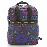 LeSportsac レスポートサック リュックサック 3268 URBAN BACKPACK D705 Midnight Flower Patch [並行輸入商品]