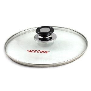 Tempered Glass Lid 20 cm (8 inches) Diameter by Ace Cook